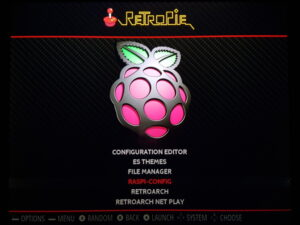 RetroPie Configuration Menu