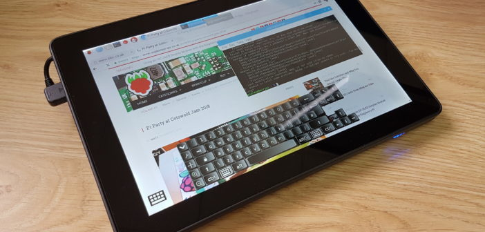 RasPad Raspberry Pi Tablet