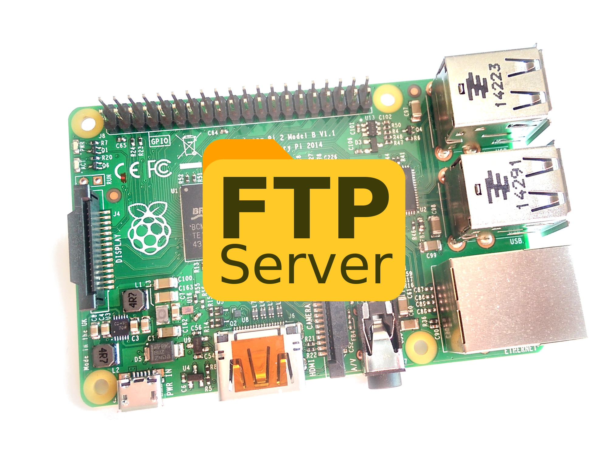 Creating a Simple FTP Server with a Raspberry Pi - Raspberry