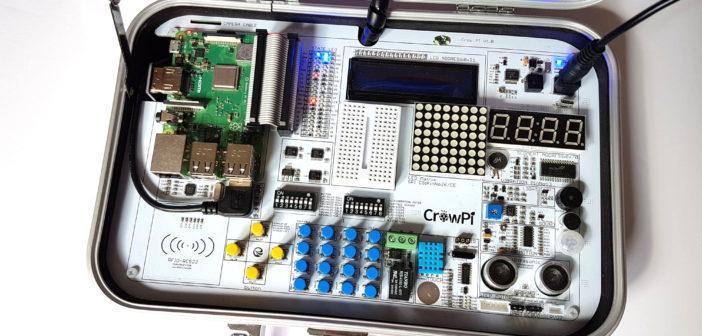 CrowPi Portable Raspberry Pi Projects Kit - Raspberry Pi Spy