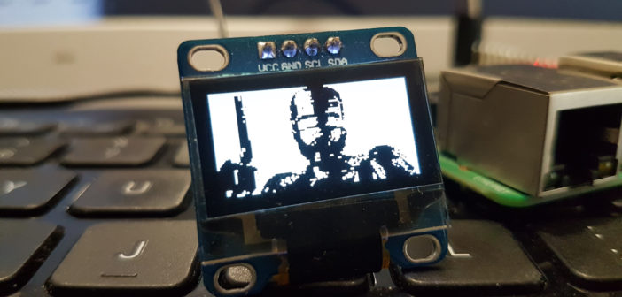 I2C OLED Screen Slideshow