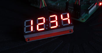 4-digit 7-segment LED module
