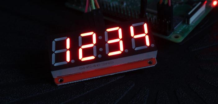 4-digit 7-segment LED module