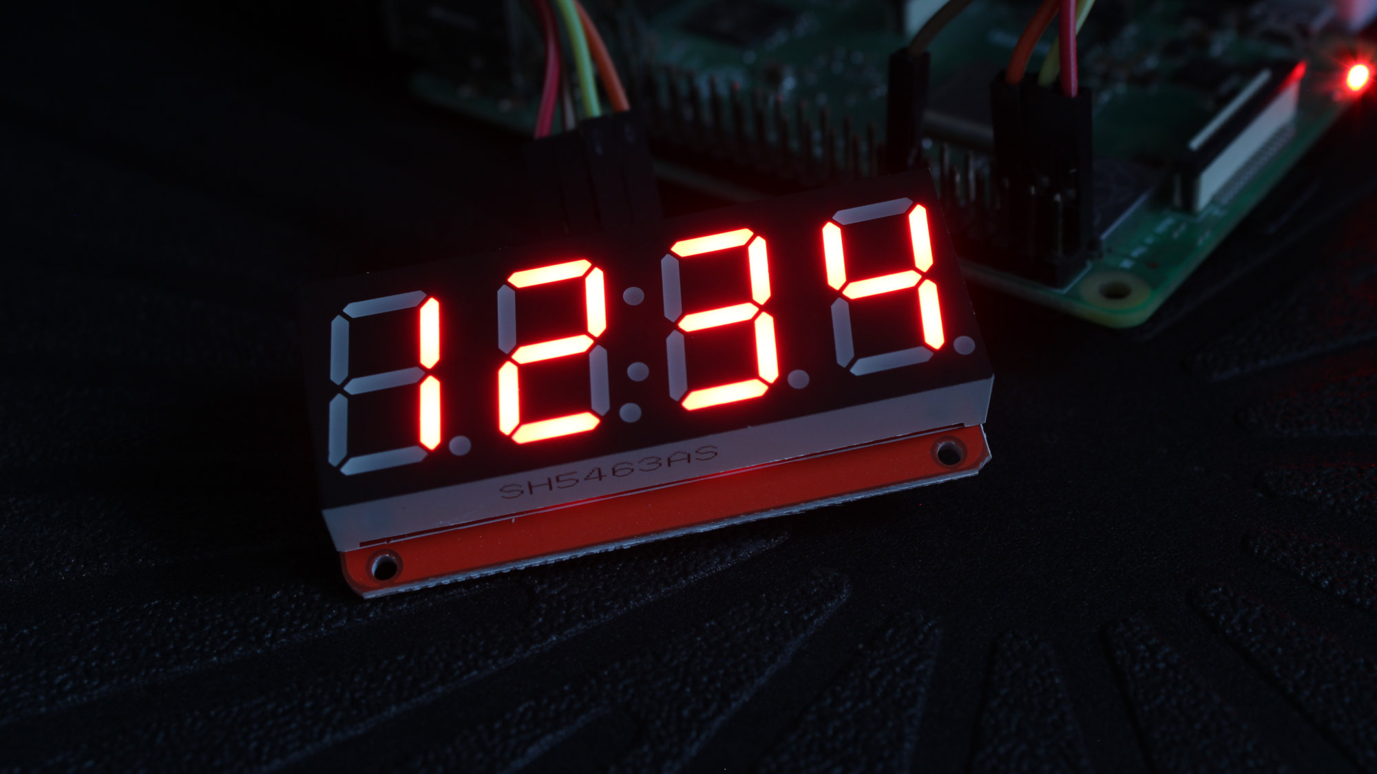 Raspberry Pi 7 Segment Led Display Module Using Python Seven Circuit Diagram Further Matrix