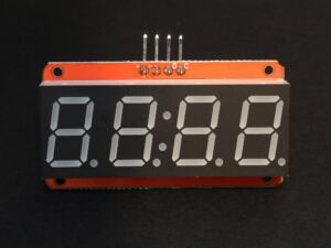 4-digit 7-segment LED module front