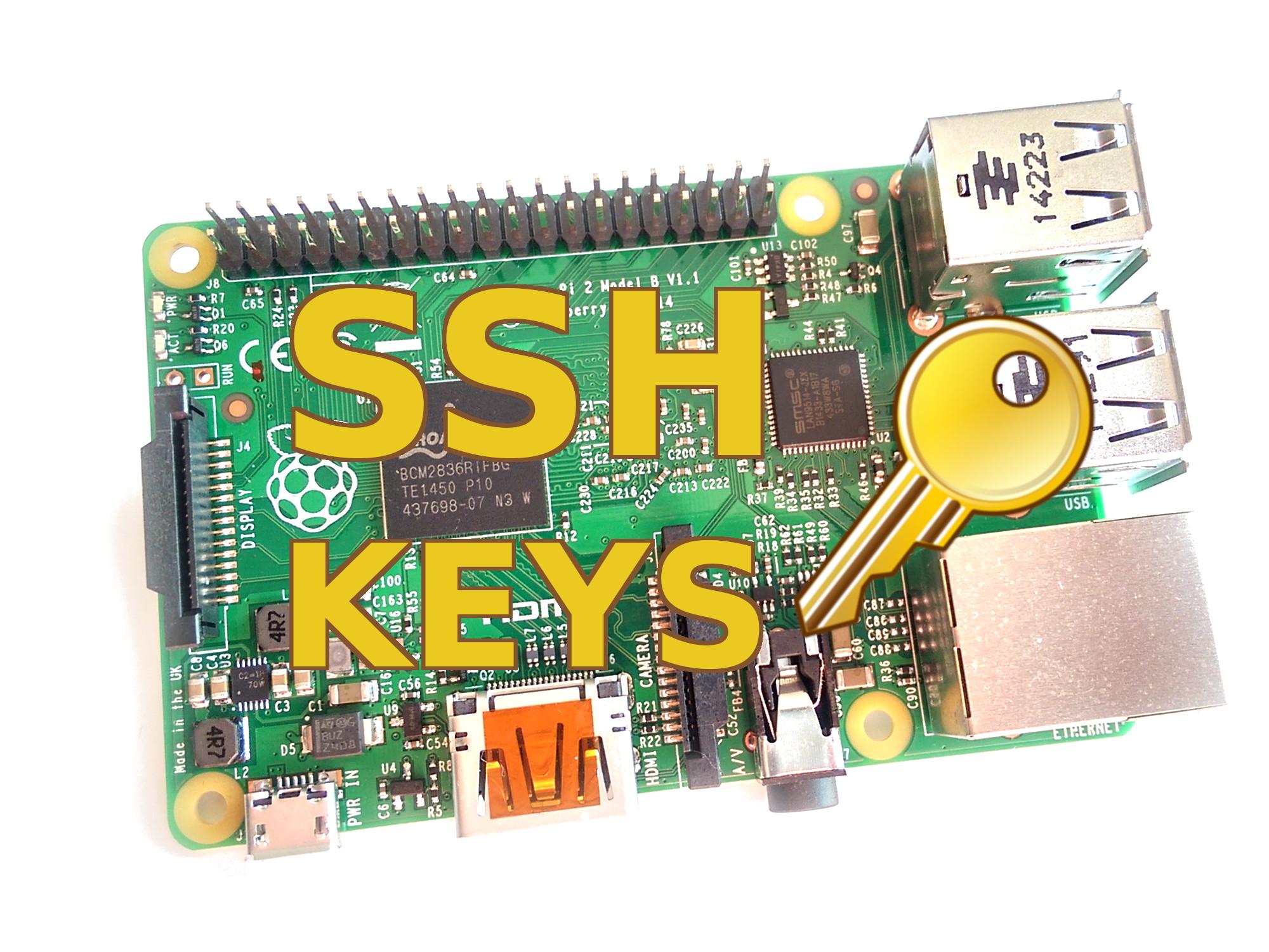 Setting up SSH Keys on the Raspberry Pi - Raspberry Pi Spy