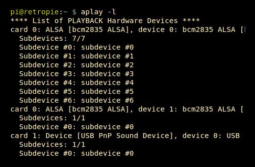 Using a USB Audio Device with the Raspberry Pi - Raspberry