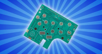AliExpress Gameboy Button Board