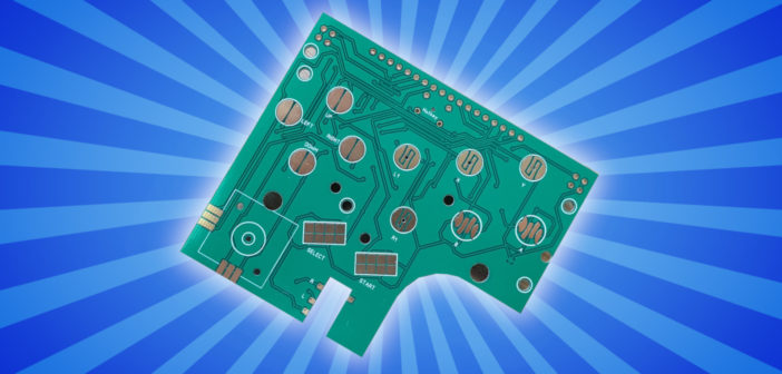 AliExpress Gameboy Button Board