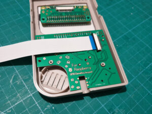 AliExpress Gameboy Button Board fitted in case